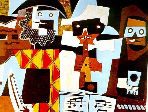 El cubismo cubismo sint tico for Tecnicas vanguardistas